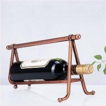 MTYLX Wine Rack Decoration Simple Wine Bottle