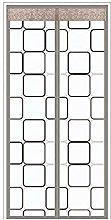 MU Black Window Fly Screen 100X210Cm / 39X82Inches