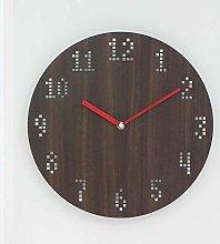 Mu Mianhua Wall clock Simple retro wall clock wall