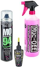Muc-Off Wash Protect Dry Lube Cleaning Kit 2021