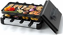 Muchen Raclette Grill for 8 People, BBQ Party