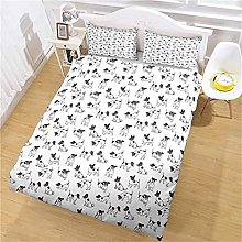 MUCXBE Double Bedding Duvet Cover Set For Teen
