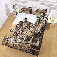 MUCXBE Double Bedding Set 3 Pcs 200x200cm 3D