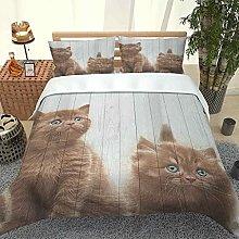 MUCXBE Double Bedding Set 3 Pcs 260x220cm 3D
