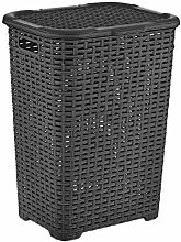 Muddy Hands 60 Litre Plastic Laundry Basket with