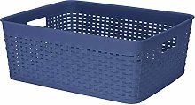 Muddy Hands Pack of 2 - Rattan Plastic Storage