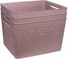 Muddy Hands Pack of 3 - Large Dotted Plastic