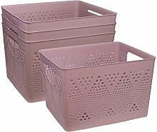 Muddy Hands Pack of 4 - Large Dotted Plastic