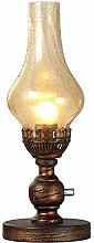 Muenm Retro Nostalgia Bedside Table Lamp Antique