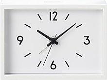 Muji Railway Station Alarm Clock , White