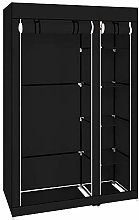 Mulple Double Canvas Wardrobe Clothes Storage