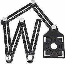 Multi Angle Measuring Ruler, Aluminum Alloy