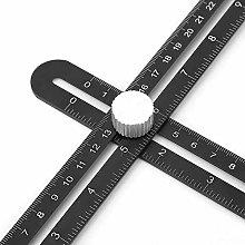 Multi Angle Measuring Ruler Universal Angularizer