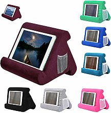 Multi-Angle Soft Pillow Lap Stand for IPad Tablet