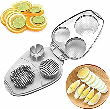 Multi-Boiled Egg Slicers - 3 in 1 Egg Slicer