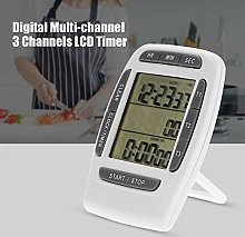 Multi-Channel Timer, Digital Countdown Clock, LCD