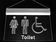 Multi Color i1033-c Unisex Toilet with Disabled