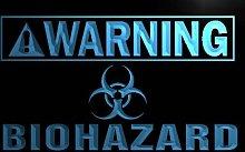 Multi Color m883-c Warning Biohazard Neon LED Sign