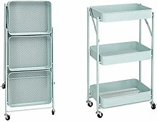 Multi-function Metal 3-Tier Foldable Kitchen