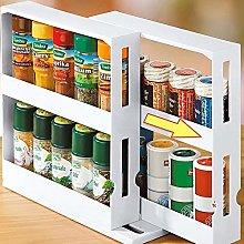 Multi-Function Storage Rack,Rotating Spice Rack,
