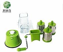 Multi-Function Vegetables Fruit Cutter Drum Type