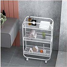 Multi-function Wheeled Movable Shelves Floor