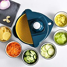 Multi-Functional 12 Pieces Vegetable Cutter with
