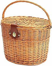 Multi-functional Wicker Covered Portable Bicycle
