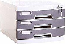 Multi-layer Plastic Storage Drawers Desk, Storage
