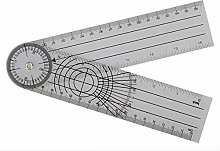 Multi-Ruler Goniometer Spinal Angle Ruler 5pcs