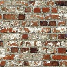 Multi / Rustic Red - 102538 - Loft - Brick - Retro