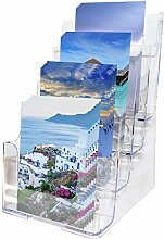 Multi-tier Acrylic Literature Holder (4 x A5