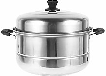 Multi Tier Stainless Steel Food Steamer Cooker Pan