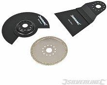 Multi-Tool Accessory Kit 3pce 609074 - Silverline