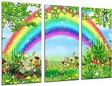 Multi Wood Printings Art Print Box Framed Picture
