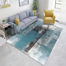 Multicolor Living Room Carpet Abstract ink pattern
