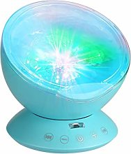 Multicolor Ocean Wave Light Projector Nightlight