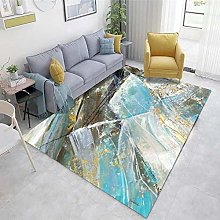 Multicolor Rugs Living Room Large Abstract ink