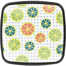 Multicolored Lemons [4 PCS]Decorative Cabinet