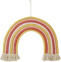 Multicoloured Cotton and Cord Rainbow Light-Up