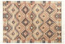 Multicoloured Cotton and Jute Kilim Rug 160x230