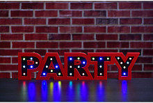 Multicoloured Groovy 30 LED Party Lights OR 27