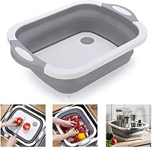 Multifunction Bowl Foldable Cutting Board Portable
