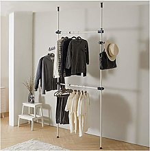 Multifunction Clothes Rack Hanger Set Telescopic