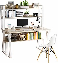 Multifunction Computer Desk with Hutch and