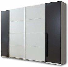Multifunction Sliding Door Wardrobe, Clean Lines