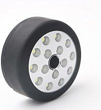 Multifunctional 15 LED Round Flashlight Outdoor