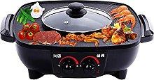 Multifunctional BBQ hot Pot Double Pot, 2 in 1