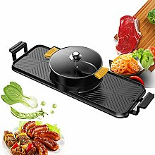 Multifunctional Electric Grill Indoor Hot Pot