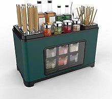 Multifunctional Kitchen Rack, Spice Jar Set
